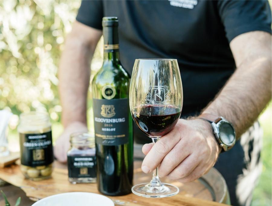 Klein Eikeboom - Wine tasting