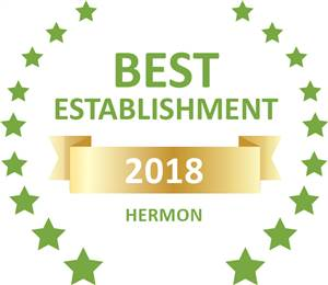 Sleeping-OUT's Guest Satisfaction Award Hermon 2018